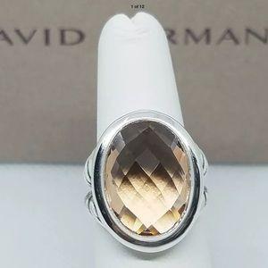David Yurman Morganite Ring! 7